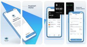MarketPeak DeFi App Wallet