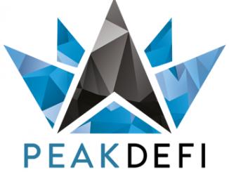 Logo der PEAK DeFi Plattform