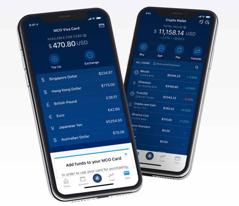 mobile Krypto Wallett